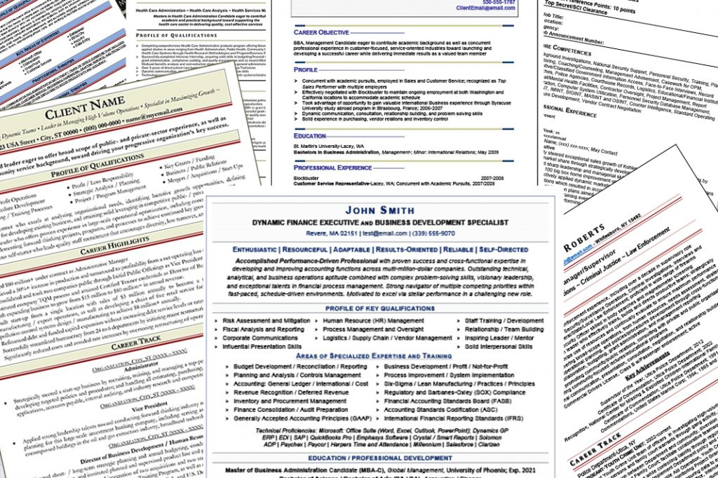 The Different Types Of Resumes You Can Order